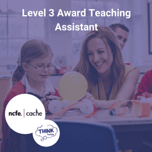 Teaching Assistant Helping Child