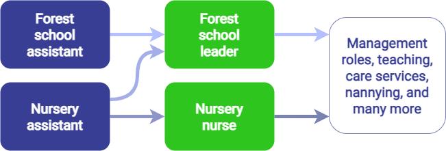 Forest school leader career progression