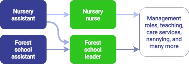 Nursery nurse career progression